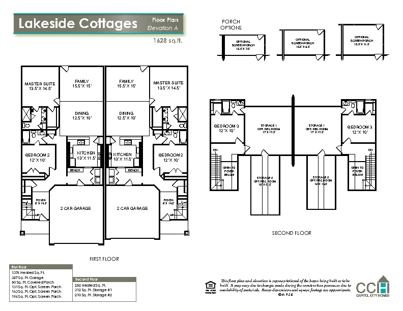 New home floorplan the lakeside cottages capitol city for Lakeside floor plan