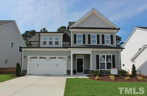357 Joyner Bluff Drive, The Bluffs at Joyner Park, Wake Forest NC (Homesite 6) - $309,900