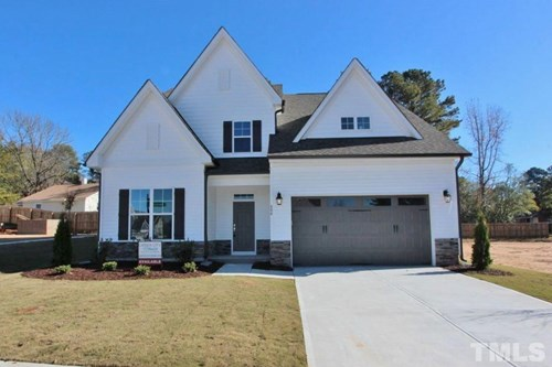 804 Oak Knoll Lane, The Bluffs at Joyner Park, Wake Forest NC (Homesite 10) - $315,000