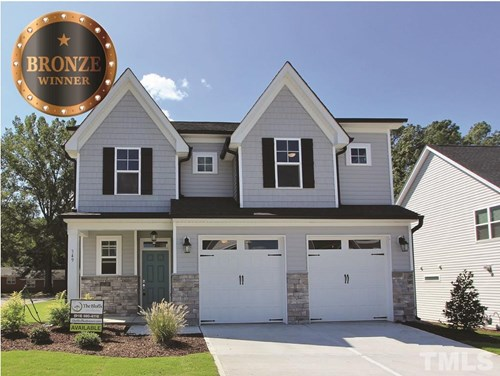 349 Joyner Bluff Drive, The Bluffs at Joyner Park, Wake Forest NC (Homesite 8) - $309,900