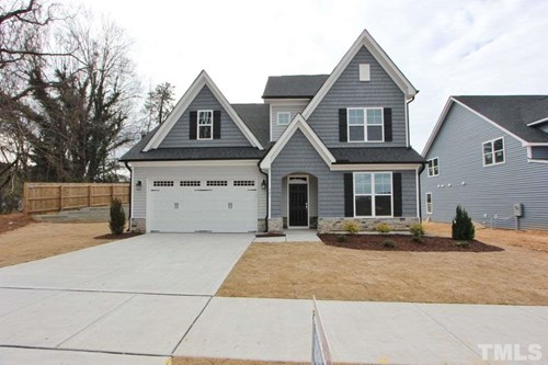 341 Cascade Hills Lane, The Bluffs at Joyner Park, Wake Forest NC (Homesite 24) - $321,900