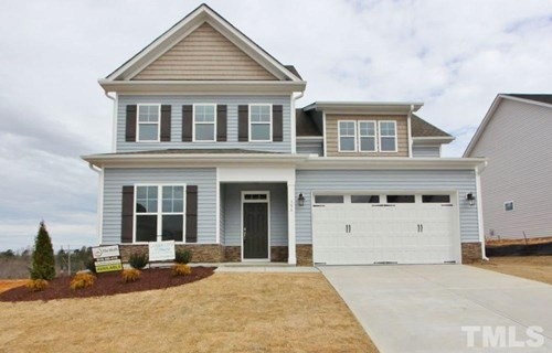 356 Cascade Hills Lane, The Bluffs at Joyner Park, Wake Forest NC (Homesite 34) - $319,900