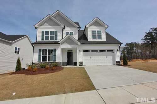 348 Cascade Hills Lane, The Bluffs at Joyner Park, Wake Forest NC (Homesite 36) - $320,000