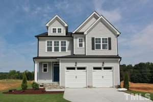 805 Park Vista Drive, The Bluffs at Joyner Park, Wake Forest NC (Homesite 26) - $300,000