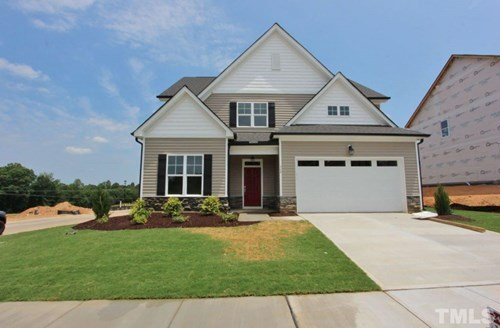 364 Cascade Hills Lane, The Bluffs at Joyner Park, Wake Forest NC (Homesite 32) - $325,000