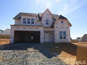 353 Rocky Crest Lane, The Bluffs at Joyner Park, Wake Forest NC (Homesite 40) - $325,000
