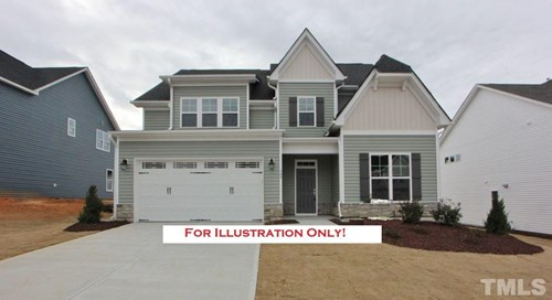 309 Anaconda Trail, The Meadows, Mebane NC (Homesite 39) - $299,900