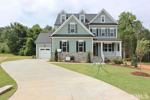 8709 Colonels Court, Oxford Hills, Wake Forest NC (Homesite 22) - $464,900