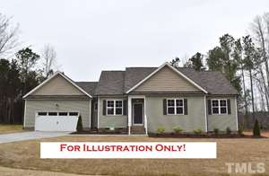 166 Soaring Eagle Trail, Eagles Nest, Zebulon NC (Homesite 54) - $219,900