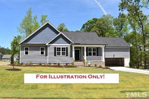 412 Soaring Eagle Trail, Eagles Nest, Zebulon NC (Homesite 45) - $219,900