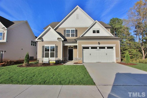 340 Rocky Crest Lane, The Bluffs at Joyner Park, Wake Forest NC (Homesite 50) - $329,900