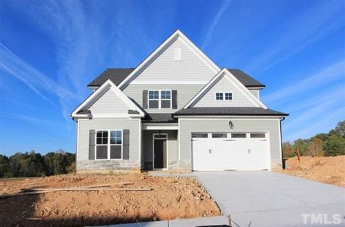 356 Rocky Crest Lane, The Bluffs at Joyner Park, Wake Forest NC (Homesite 46) - $329,900