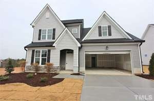 348 Rocky Crest Lane, The Bluffs at Joyner Park, Wake Forest NC (Homesite 48) - $325,000