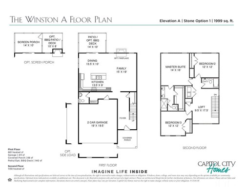 861 Mill Station Lane, Wendell Falls, Wendell NC (Homesite 909) - $291,340