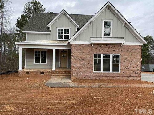 277 High Ridge Lane, Chapel Ridge, Pittsboro NC (Homesite 162) - $500,000