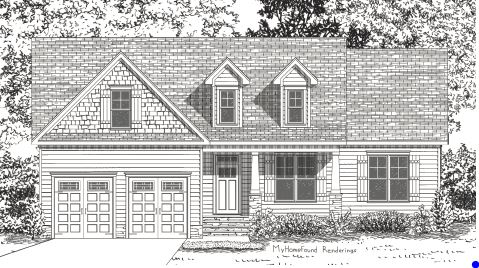 New home floorplan the dayton capitol city homes for Dayton home designs